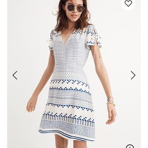Madewell Poppy Dress in Ionian Tile 2